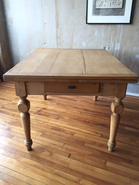 Tuscan Antique Dining Table (Extends) - Mercato Antiques - 1