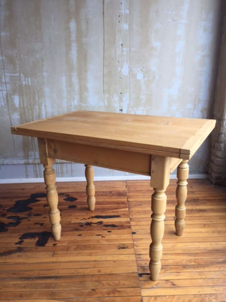 (SOLD) Small Italian Antique Table - extends