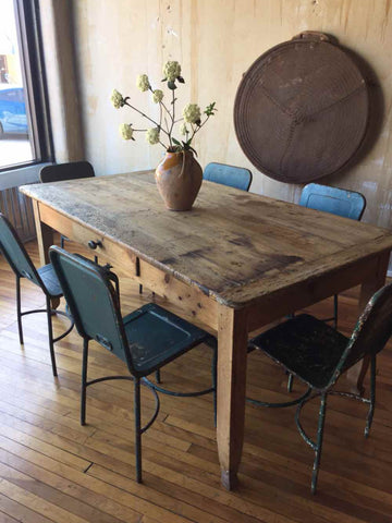Italian Antique Dining Table - seats 6