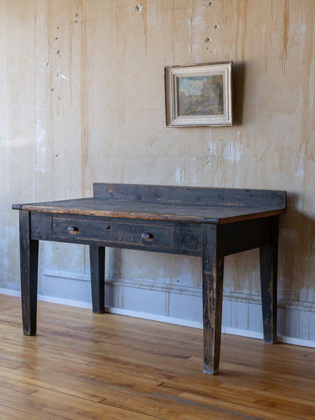 (SOLD) Rustic Vintage Work Table