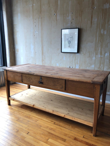 Italian Antique Work Table