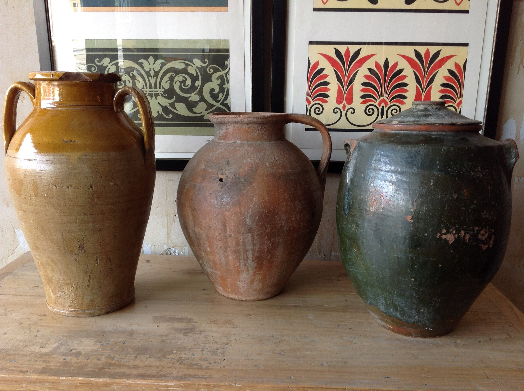 Rustic Earthenware Pottery