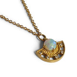 Arden Pendant with Opal