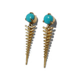 Heddle Drops w/ Turquoise