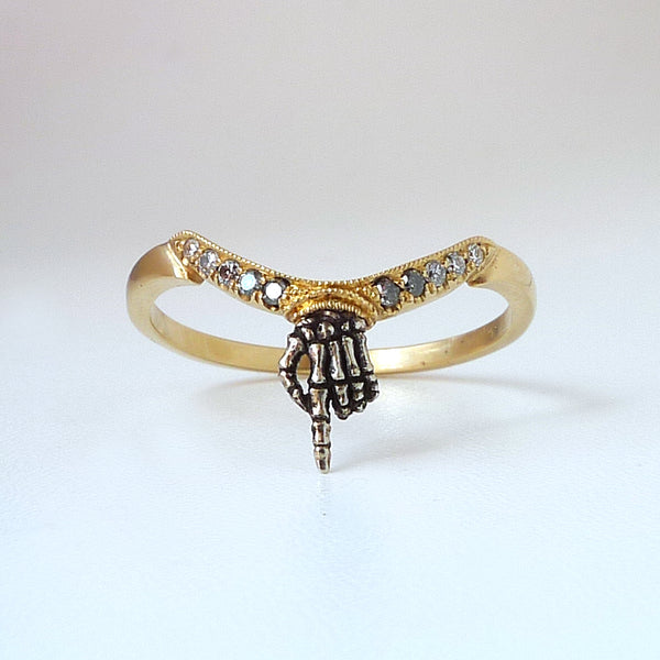 Reaper Hand Ring