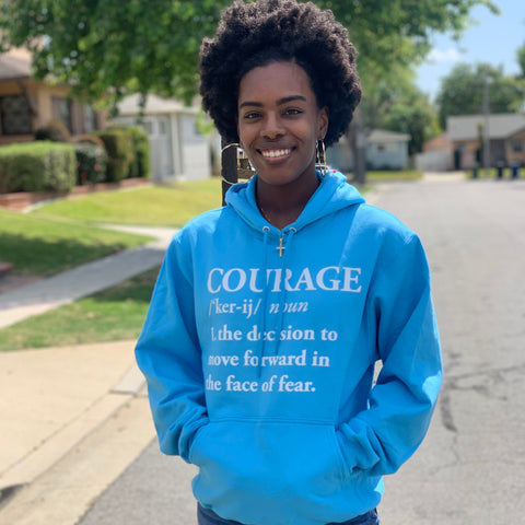 Spring Collection Courage Hoodie
