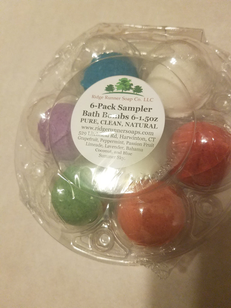 Wholesale Bath Bomb 6-Pack Sampler