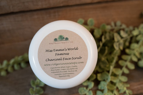 Charcoal Face and Body Scrub