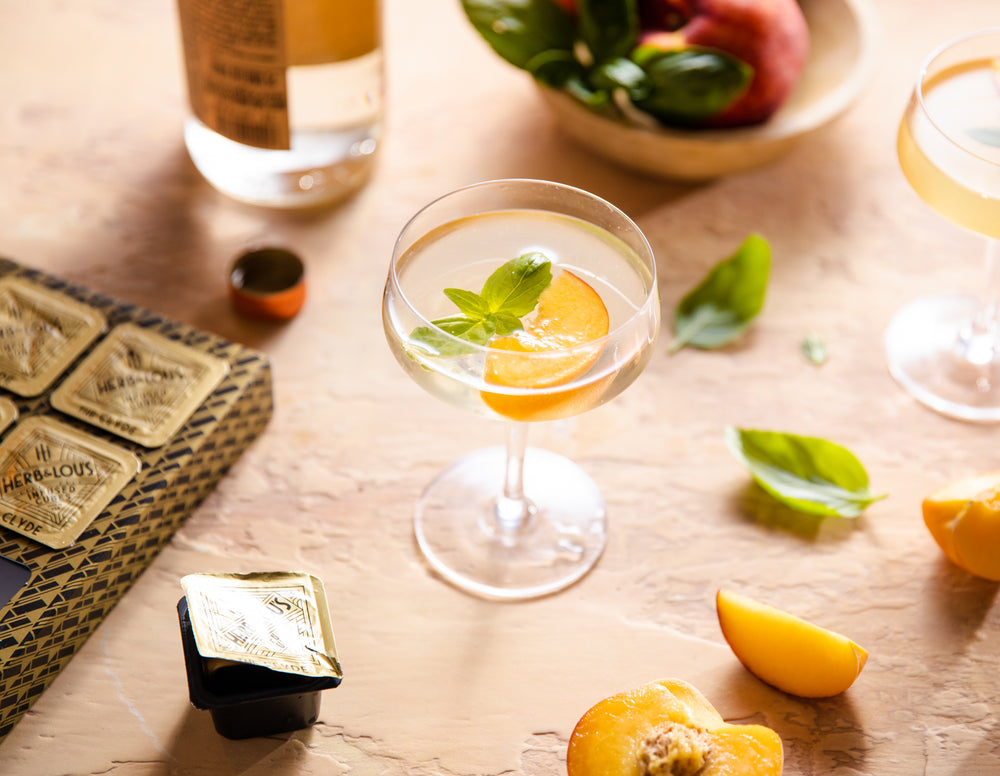 Imagined for Vodka and Tequila: Peach Cosmopolitan
