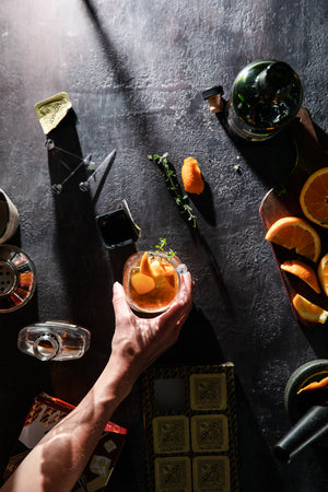 Blood Orange-Ginger Old Fashioned Mixer