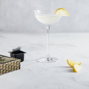 Imagined for pairing with rum: Meyer lemon daiquiri with bergamot, chamomile & vanilla