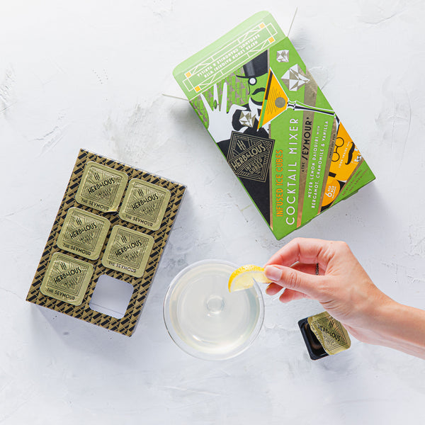 Herb & Lou's Infused Ice Cubes