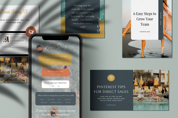 Crow Canva Social Bundle