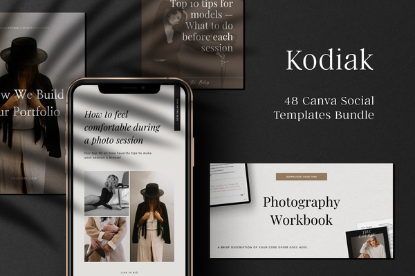 Kodiak Canva Social Bundle
