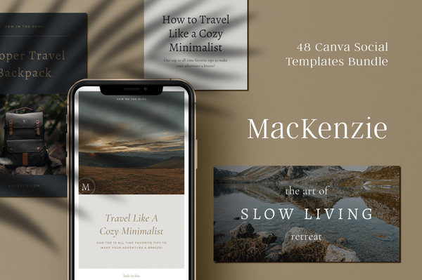 MacKenzie Canva Social Bundle