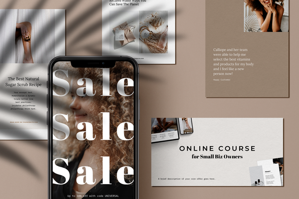 Ophelia Canva Social Bundle