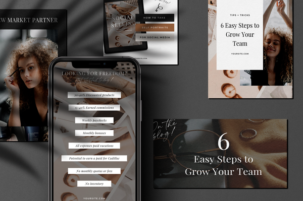 Sparrow Canva Social Bundle