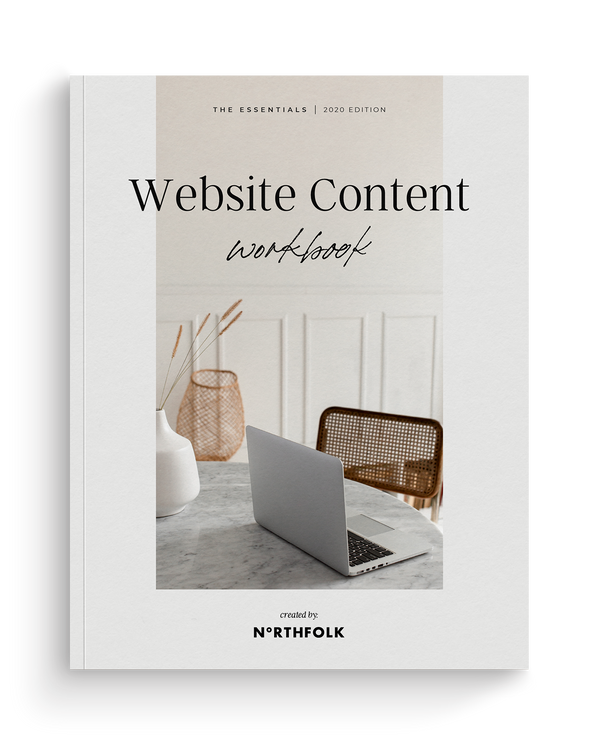 Website Content Workbook (Digital Download)