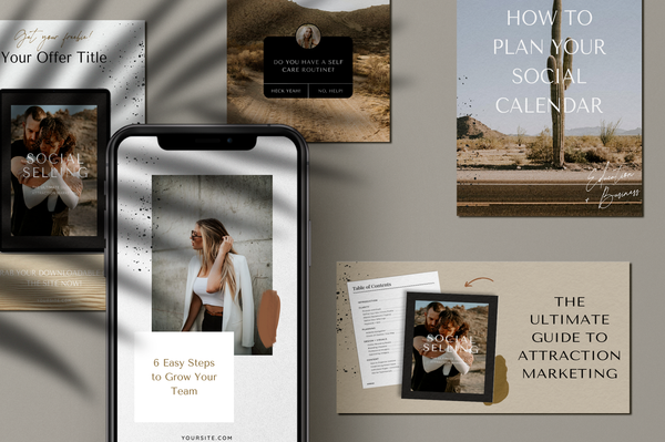 Wren Canva Social Bundle