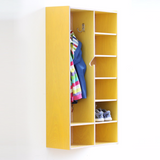 Can also be used as closet shelving.