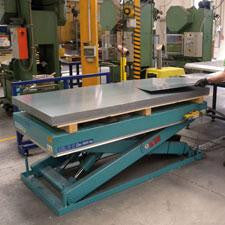 Lift Table, <br>Single Scissor, <br>Model 1A