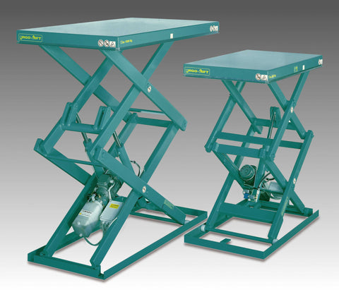 Lift Table, <br>Double Scissor, <br>Models 2E / 2A