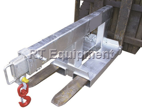 Forklift Jib, <br>Extendable 2.5 ton, <br>Model FJ2.5