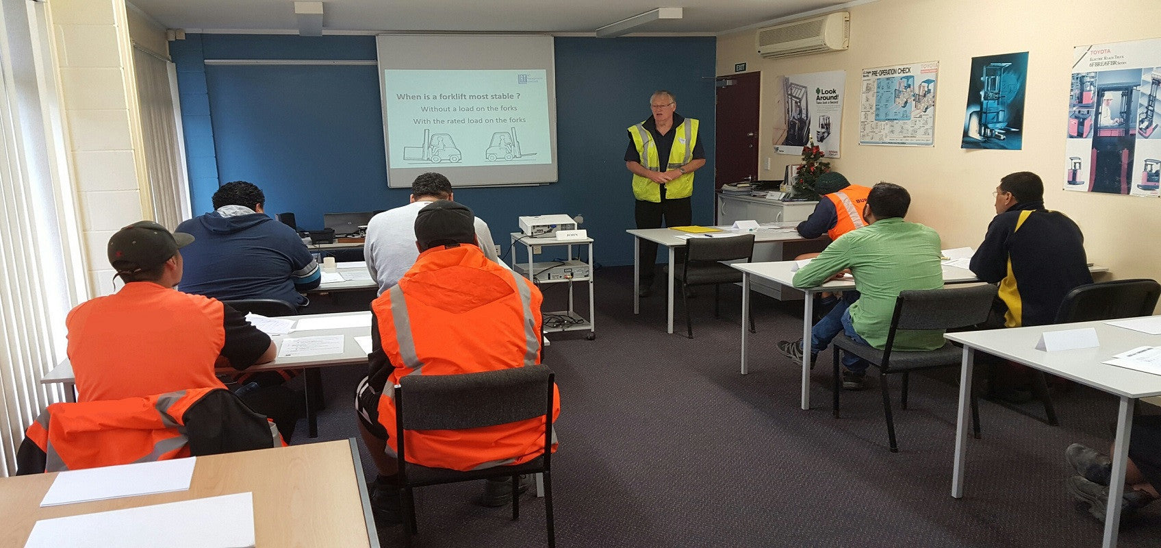 Forklift Operator Certificate Training Programmes Half Day Course