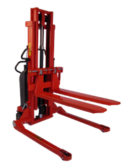 Logiflex Stacker, <br>Electric Lift and Manual Travel - Straddle Legs, <br>Model ELFS