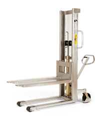 Logiflex Stacker, <br>Manual, Semi-Stainless, <br>Model HS 1000 RF-SEMI