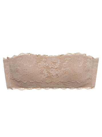 Cosabella NEVER SAY NEVER PADDED FLIRTIE™ BANDEAU BRA | Blush