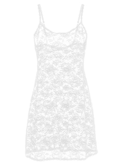 NEVER SAY NEVER FOXIE™ LACE CHEMISE | White