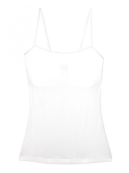 Talco Long Camisole | White