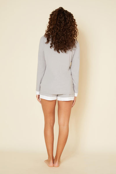 Cosabella Bella Long Sleeve Top & Short Pj Set