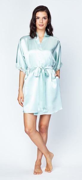 Boudoir Short Robe | 2 Colors Available
