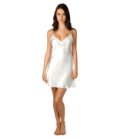 Christine Design Sugar Silk Chemise | Pearl