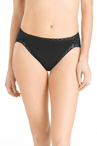Natori Bliss French Cut Panty | Black
