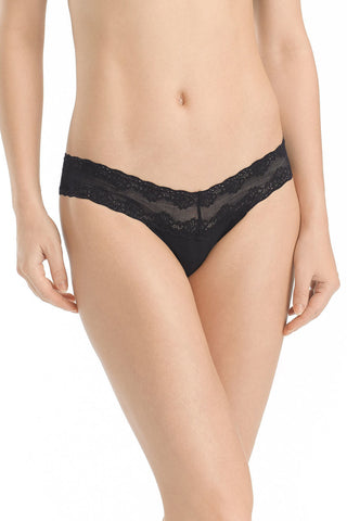 Natori Bliss Perfection Thong | Black