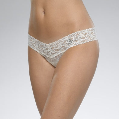 Bride Low Rise Thong