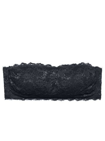 Cosabella NEVER SAY NEVER PADDED FLIRTIE™ BANDEAU BRA | Black