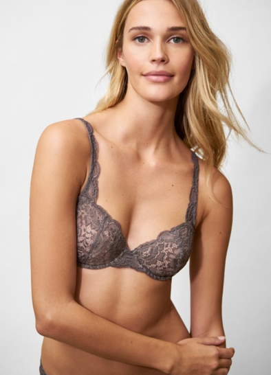 Goddess Multi-Way Underwire Bra | Slate