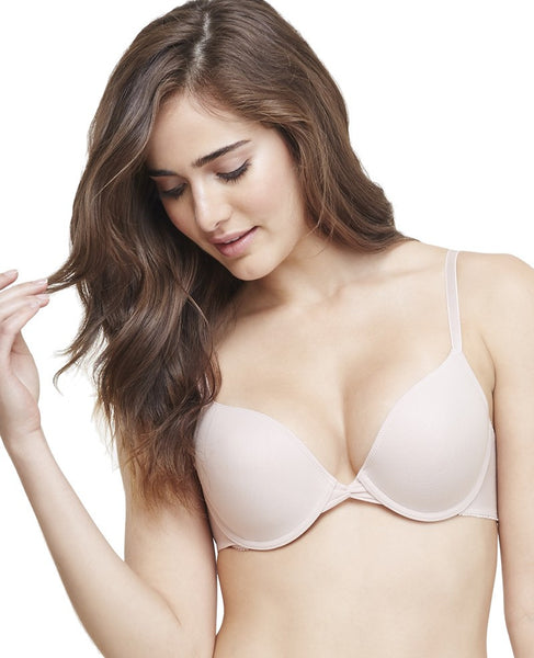Gossamer Mesh Bump-It-Up Bra | Champagne