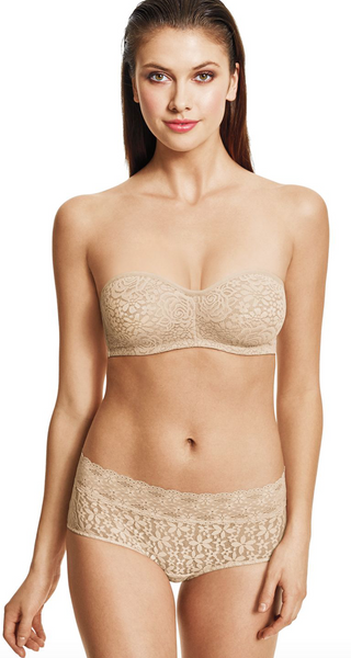 Halo Lace Strapless Bra | Available in 2 Colors