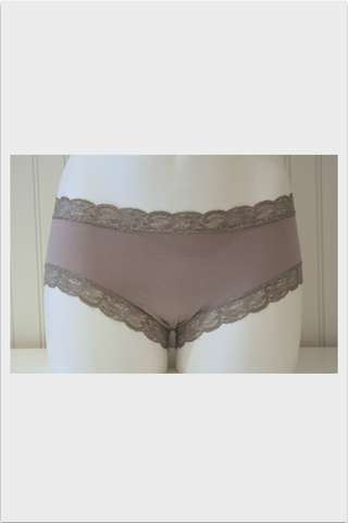 Marie Bella Chloe Boyshort | Grey