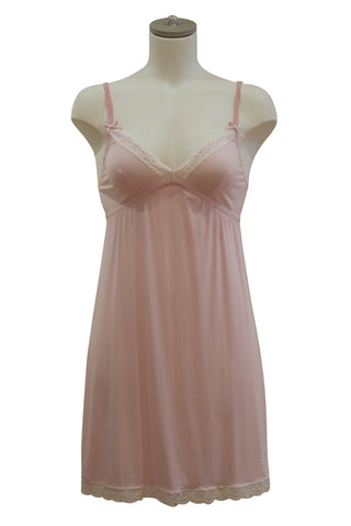 Marie Bella Flora Chemise | Light Pink