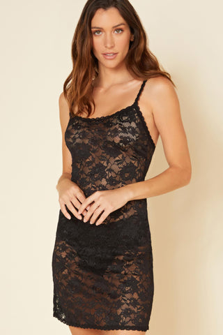 Cosabella NEVER SAY NEVER FOXIE™ LACE CHEMISE | Black