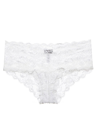 Never Say Never Lowrise Hotpants | White