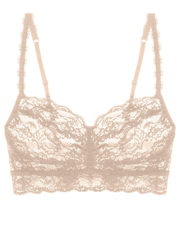 Never Say Never Lace Sweetie Bralet | Blush