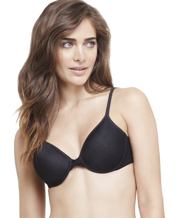 Sheer Bliss T-Shirt Bra | Black