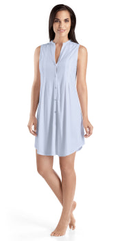Hanro Cotton Deluxe Sleeveless Nightdress